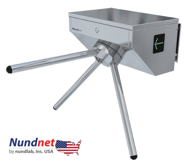 NU 1323WM Wall Mount Tripod Turnstile, Nundnet, USA