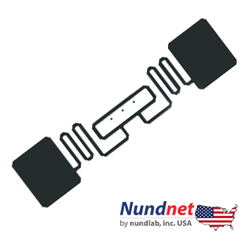 UHF RFID Sticker tags Nundnet NT 10AHS USA