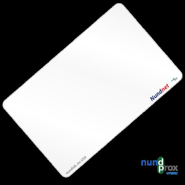 Combo card 13.56MHZ and UHF long range reader card Nundprox NU 8056MU.