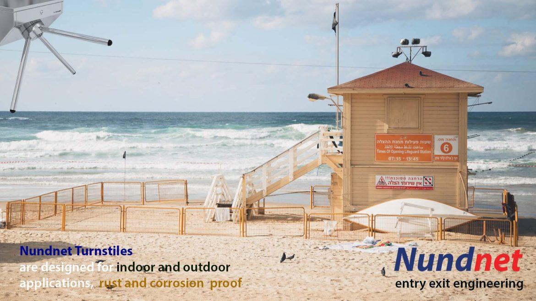 Turnstiles for outdoor application