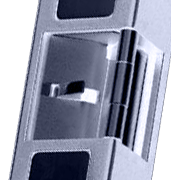 Locking section of Electric Strike for Mechanical Push bar