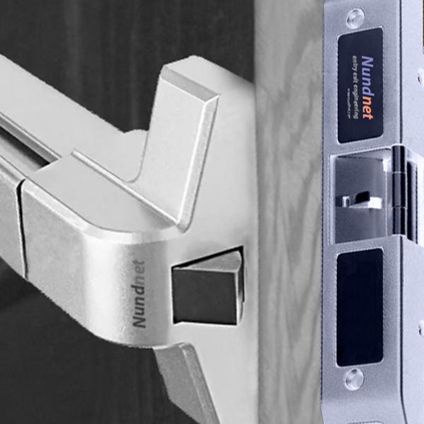 NU8811P1D Lock and Push bar combination