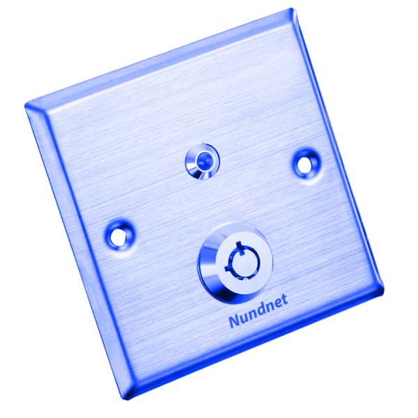 Door Release button with common Key LED Nundnet NU7080CKB