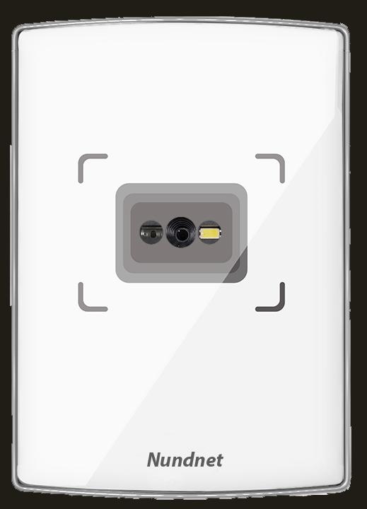 QR Reader Slim Rectangle white Nundnet NU80QRL