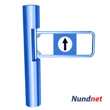 Swing Turnstile gate Nundnet NU 9304RG, Nundlab, Inc USA