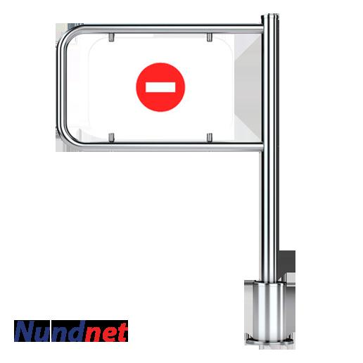 Mechanical Swing Turnstile for Supermarket